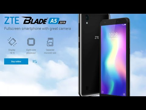 ZTE Blade A5 2019 unveiled | Review, Specs & Feature's