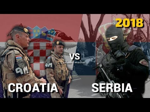 Croatia vs Serbia - Military Power Comparison 2018