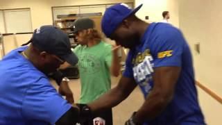 Urijah Faber meets Uriah Hall in a Dance Off