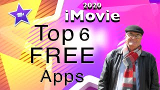 6 Top Free Apps to use with iMovie - iMovie training 2020