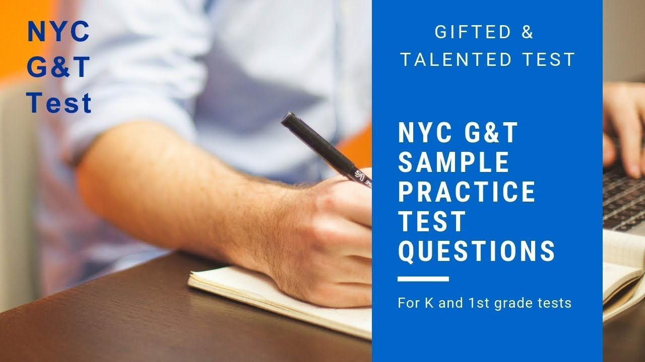 NYC Gifted and Talented (G&T) Simulated Practice Test Questions