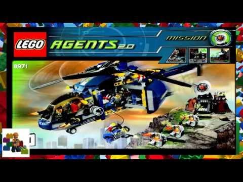 LEGO Instructions - Agents - 8971 - Aerial Defense Unit (Book 1)