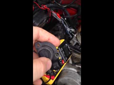 tps test and change, t25 torex, k3500 chevy 350 5 7 tbi, iac, throttle  position sensor repair, 1995 - youtube