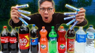 Download Video MENTOS + COCA-COLA = AUTO MUNCRAT!! MP3 3GP MP4