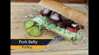 Porkbelly Poboy + HUGE Open Giveway!!
