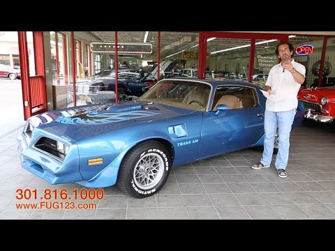 1978 Pontiac Trans Am for sale with test drive, driving sounds, and walk through video