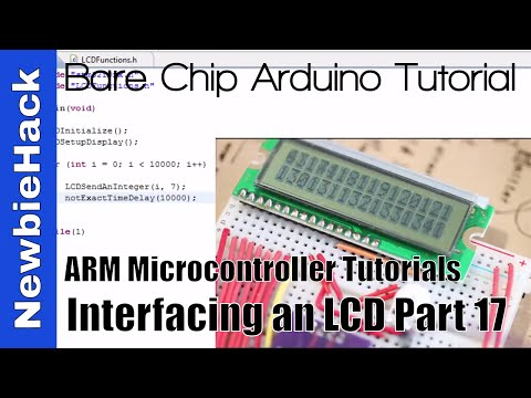 30. How to Display Float Numbers on an LCD with ARM STM32 Microcontroller Tutorial - Part 17