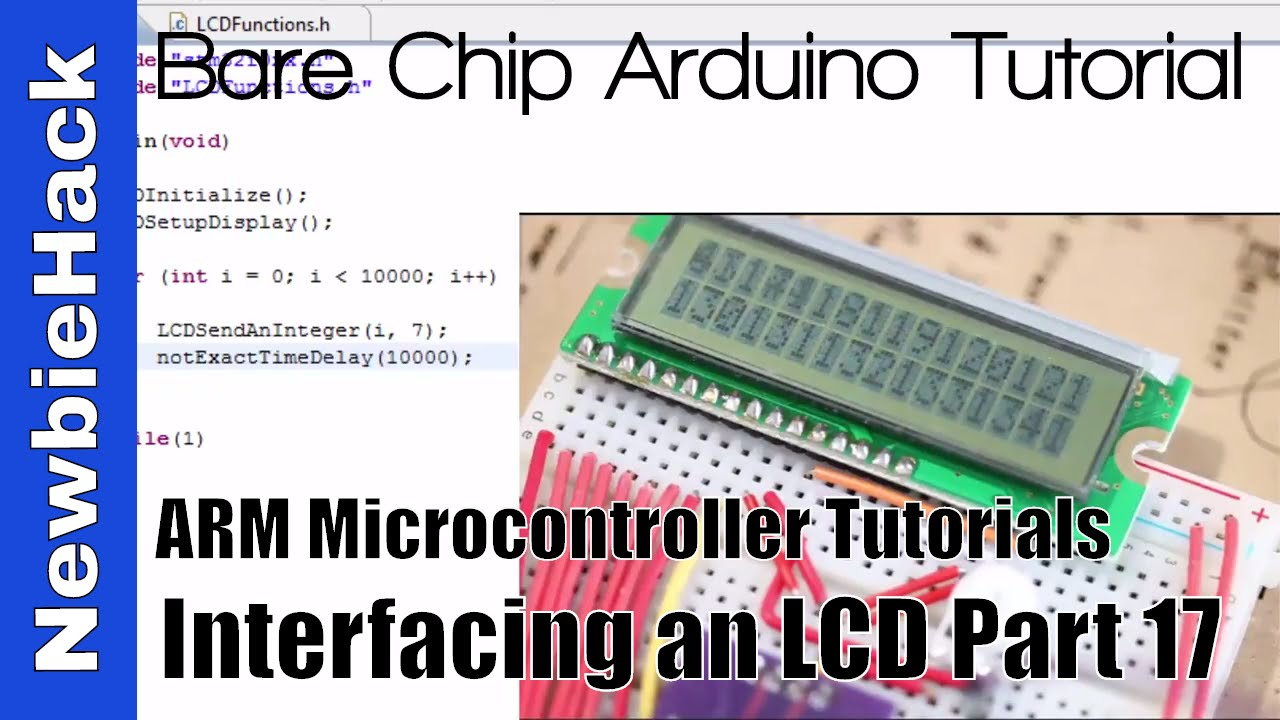 30  How to Display Float Numbers on an LCD with ARM STM32 Microcontroller  Tutorial - Part 17