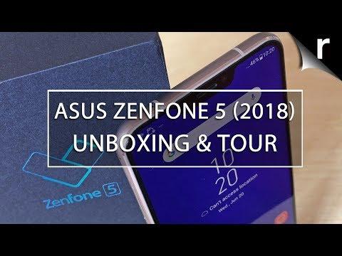 Asus Zenfone 5 (2018) Unboxing & Tour
