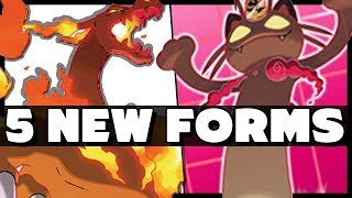 What You Need To Know About The 5 New GIGANTAMAX Forms -  Pokemon Sword and Shield