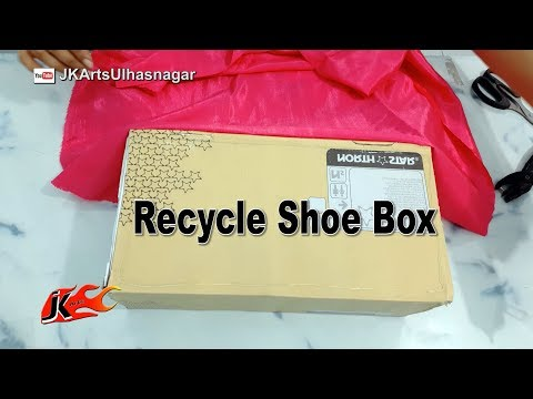 Recycle Shoe Box JK Arts