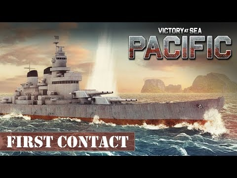 Victory At Sea Pacific Gameplay - First Contact in deep waters - Victory at Sea Let's Play - HD |