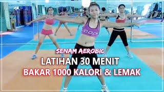 Download Video Senam Aerobic 30 Menit Full - Gerakan Membakar 1000 Kalori dan Lemak MP3 3GP MP4