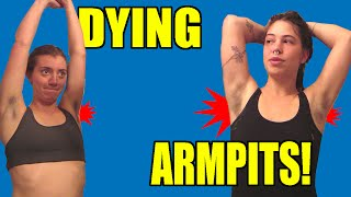 Memorie Questions: Dying our armpit hair