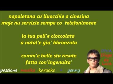 DIEGO DE LUCA Che diva karaoke