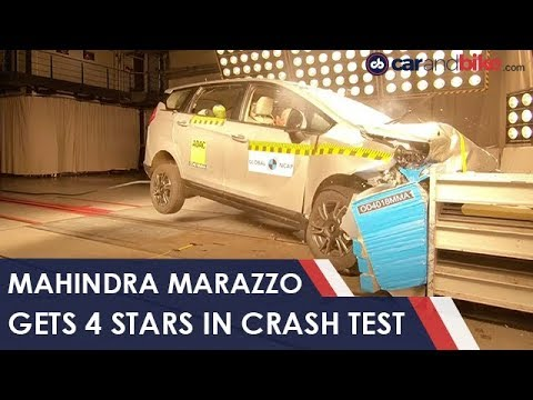 Exclusive: Mahindra Marazzo Gets 4 Stars In Crash Test | NDTV Carandbike
