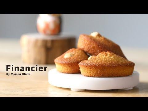 버터 풍미 가득 피낭시에 ( Financier, Financier ) - 메종올리비아