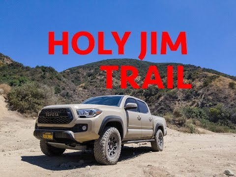 Trip To Holy Jim Trail - 2017 Toyota Tacoma Off-road 4x4 - Small Fire Caught On Video
