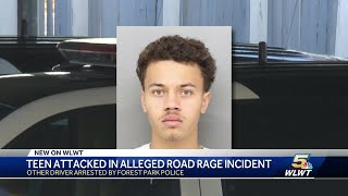 Teen attacked in alleged road rage incident