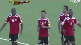 فيديو.. ليبيا تفوز على رواندا بثلاثية