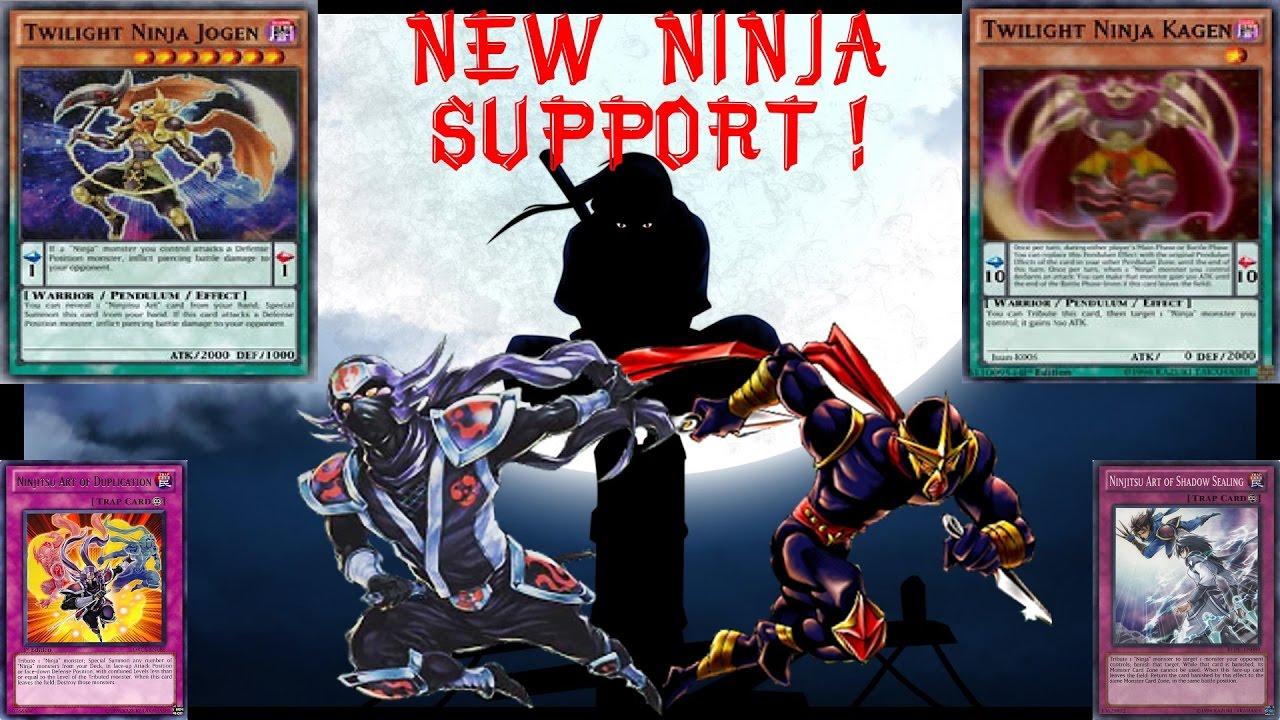 new ninja support quick ninja pendulum deck profile discussion