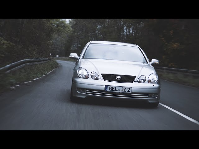 TOYOTA ARISTO 2JZ GTE - EXHAUST SOUNDCHECK - 4K