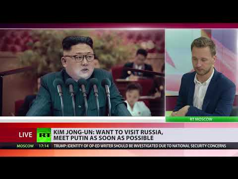 Kim Jong-Un wants to visit Russia & meet Putin