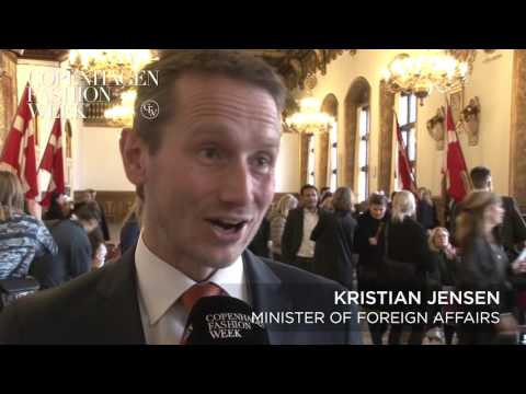 Kristian Jensen,  Minister of Foreign Affairs - Interview AW16