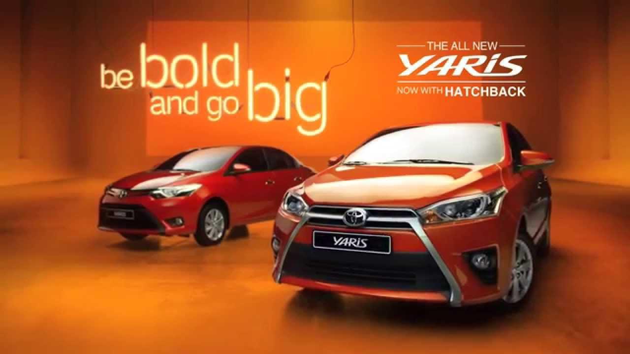 Toyota Yaris Hatchback 2015 Be Bold Youtube