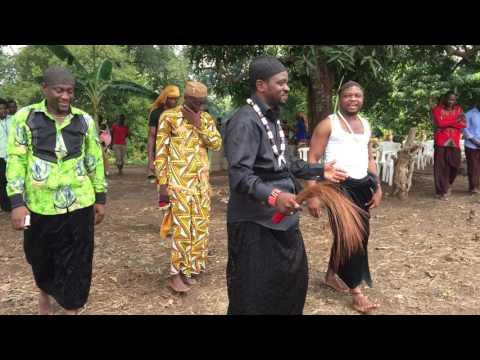 Tongo Festival 2016, Missélélé King Sacred Drum Address, Missélélé, Littoral, Cameroon