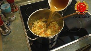 ostdeutsche Kartoffelsuppe nach DDR Rezept