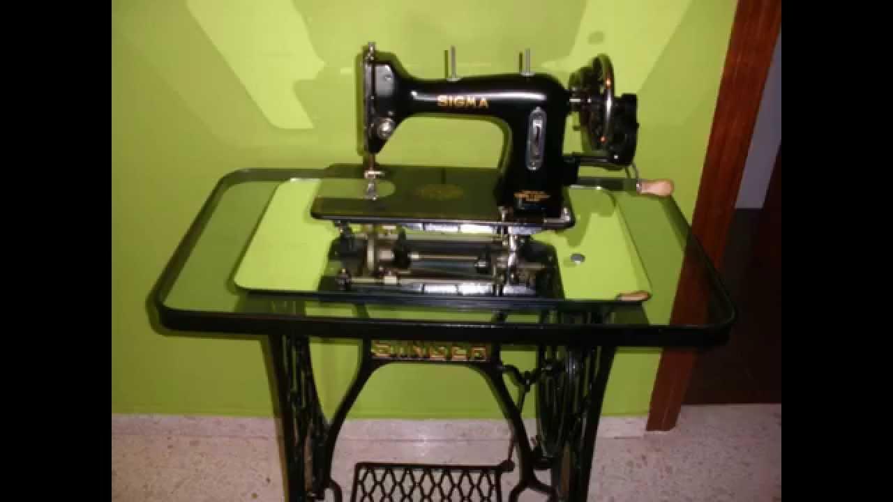 Maquinas de Coser Antiguas - YouTube