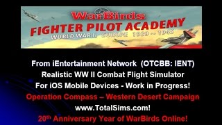 Operation Compass from WarBirds Fighter Pilot Academy
