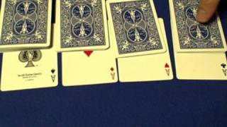 The Fantabulous Four Aces - Card Trick