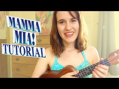 Mamma Mia - ABBA | Ukulele Tutorial