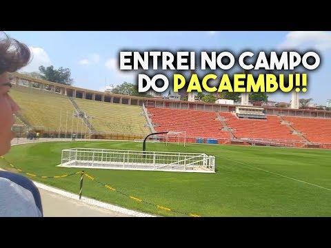 UM DIA NO ESTÁDIO DO PACAEMBU