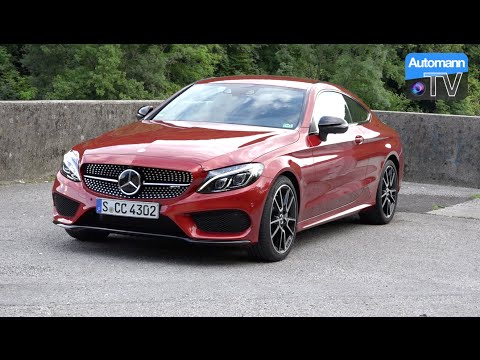 2017 Mercedes-AMG C43 Coupé (367hp) - DRIVE & SOUND (60FPS)