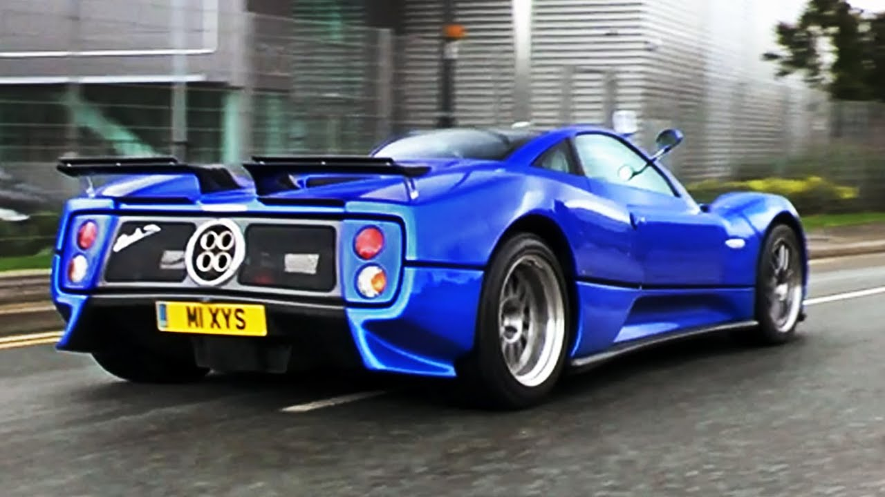 Pagani Zonda S - Sounds and Combos - YouTube