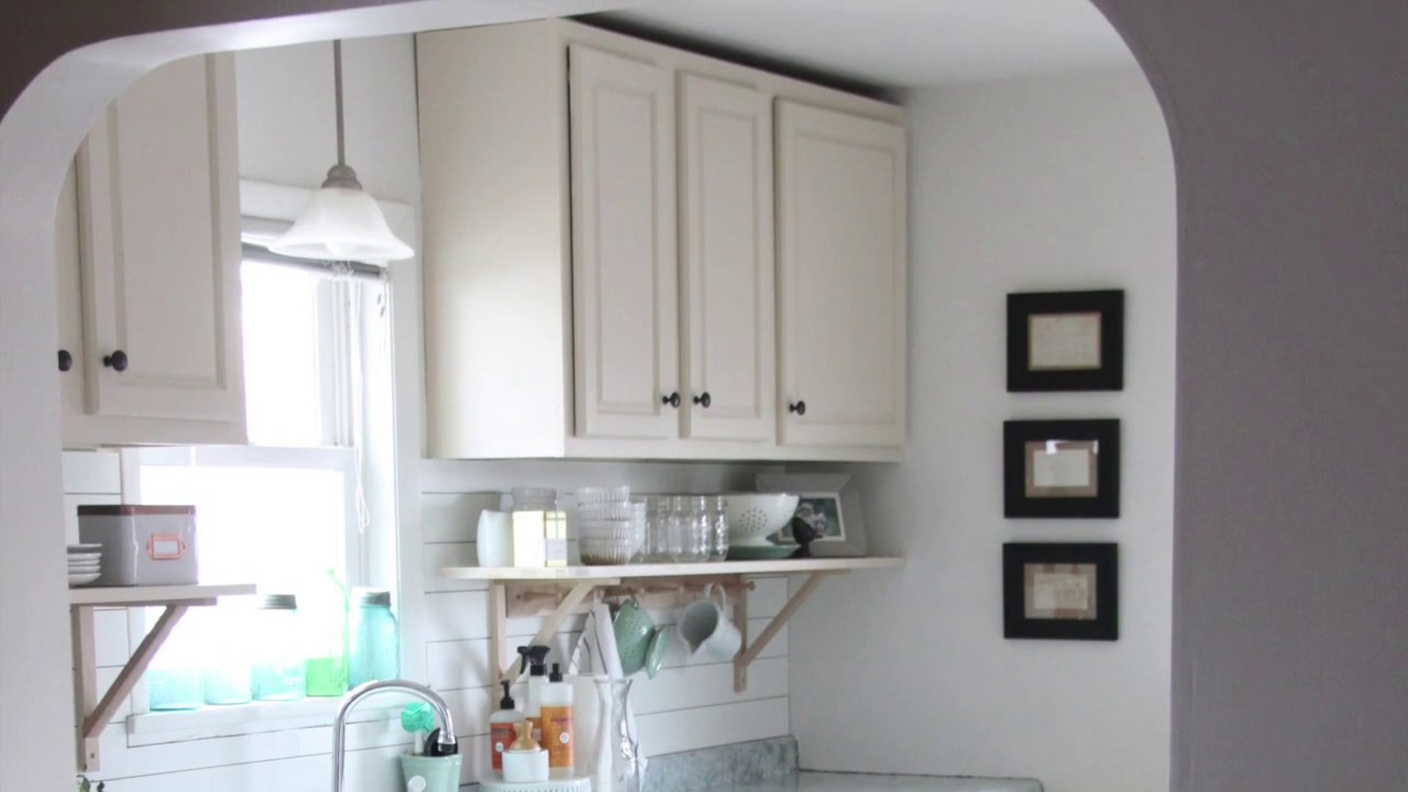 How To Raise Upper Kitchen Cabinets To The Ceiling Youtube