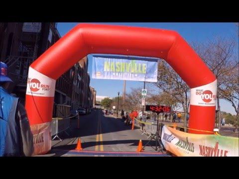 Nashville Marathon 2015