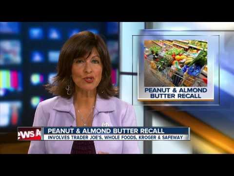 Peanut, almond butter recalled over salmonella