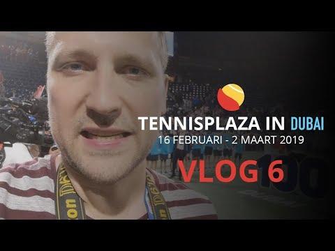 Tennisplaza in Dubai - Vlog 6: Superieure Federer pakt honderdste kroon