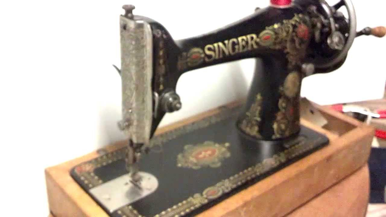 singer treadle sewing machine g series