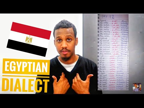 Egyptian Dialect Week 2