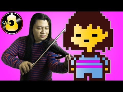 Undertale - Determination (Orchestral/Electric Violin Cover/Remix) || String Player Gamer