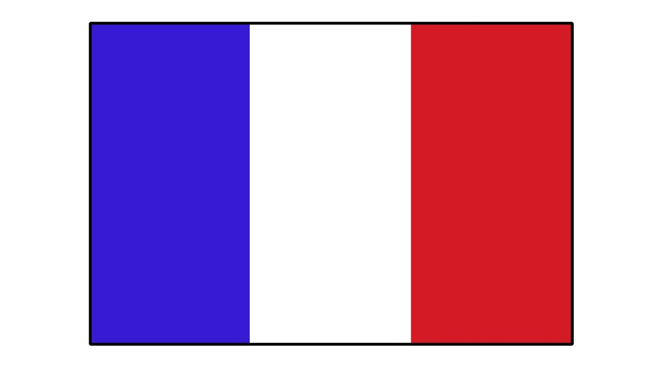 Drawing The French Flag
