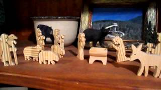 Scroll Sawn Nativity Scene