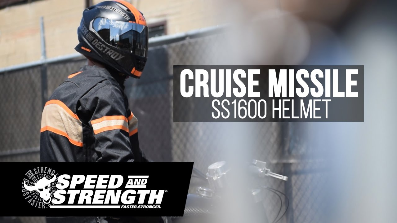 Cruise Missile Ss1600 Helmet Youtube
