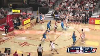 NBA 2K14 Gameplay - Dallas Mavericks vs Houston Rockets Full Game (Xbox One)
