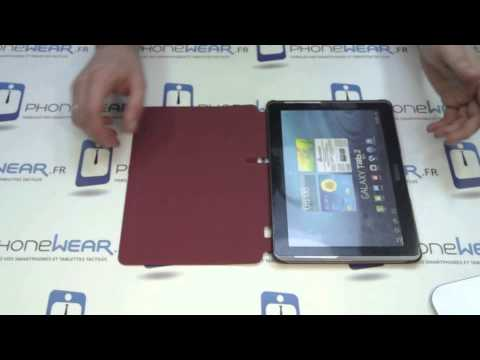 Etui coque Samsung EFC-1H8S pour Galaxy TAB 2 10.1 P5110 - PhoneWear